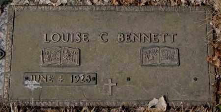 BENNETT, LOUISE C. - Yankton County, South Dakota | LOUISE C. BENNETT - South Dakota Gravestone Photos