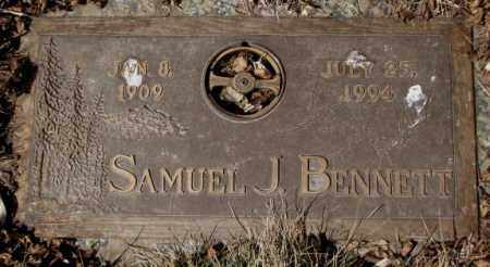 BENNETT, SAMUEL J. - Yankton County, South Dakota | SAMUEL J. BENNETT - South Dakota Gravestone Photos