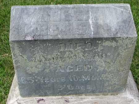 BENSON, JOSEPH - Yankton County, South Dakota   JOSEPH BENSON - South Dakota Gravestone Photos