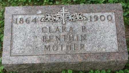 BENTHIN, CLARA R. - Yankton County, South Dakota | CLARA R. BENTHIN - South Dakota Gravestone Photos