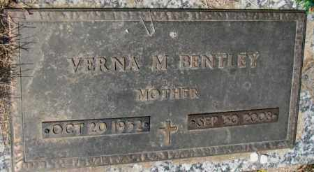 BENTLEY, VERNA M. - Yankton County, South Dakota   VERNA M. BENTLEY - South Dakota Gravestone Photos