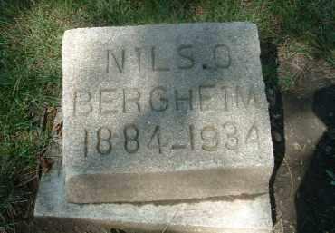BERGHEIM, NILS O. - Yankton County, South Dakota | NILS O. BERGHEIM - South Dakota Gravestone Photos