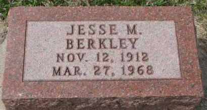 BERKLEY, JESSE M. - Yankton County, South Dakota | JESSE M. BERKLEY - South Dakota Gravestone Photos