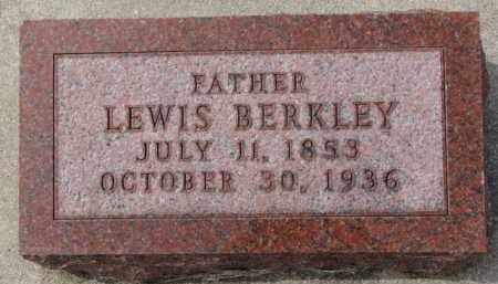 BERKLEY, LEWIS - Yankton County, South Dakota   LEWIS BERKLEY - South Dakota Gravestone Photos