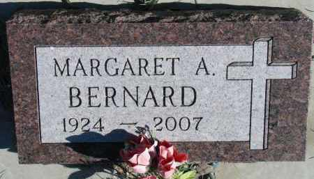 BERNARD, MARGARET A. - Yankton County, South Dakota | MARGARET A. BERNARD - South Dakota Gravestone Photos