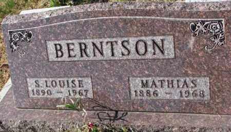BERNTSON, S. LOUISE - Yankton County, South Dakota | S. LOUISE BERNTSON - South Dakota Gravestone Photos