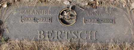 BERTSCH, EMANUEL - Yankton County, South Dakota | EMANUEL BERTSCH - South Dakota Gravestone Photos