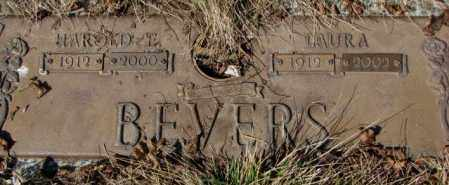 BEVERS, LAURA - Yankton County, South Dakota | LAURA BEVERS - South Dakota Gravestone Photos