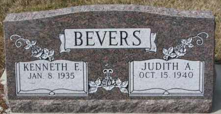 BEVERS, JUDITH A. - Yankton County, South Dakota | JUDITH A. BEVERS - South Dakota Gravestone Photos