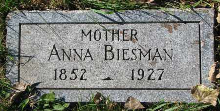 BIESMAN, ANNA - Yankton County, South Dakota   ANNA BIESMAN - South Dakota Gravestone Photos