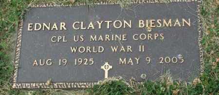 BIESMAN, EDNAR CLAYTON (WW II) - Yankton County, South Dakota | EDNAR CLAYTON (WW II) BIESMAN - South Dakota Gravestone Photos
