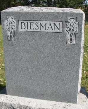 BIESMAN, FAMILY STONE - Yankton County, South Dakota | FAMILY STONE BIESMAN - South Dakota Gravestone Photos
