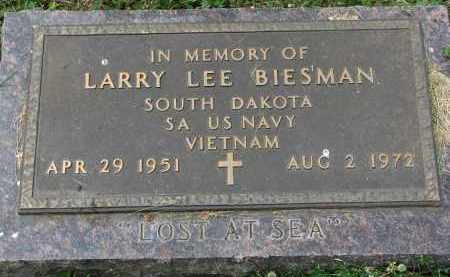 BIESMAN, LARRY LEE - Yankton County, South Dakota   LARRY LEE BIESMAN - South Dakota Gravestone Photos