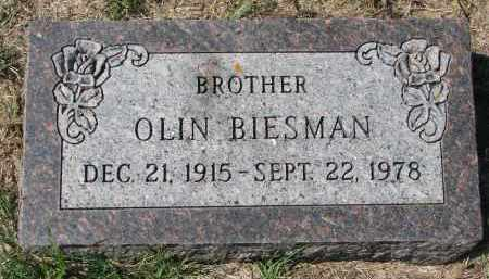 BIESMAN, OLIN - Yankton County, South Dakota | OLIN BIESMAN - South Dakota Gravestone Photos