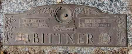 BITTNER, HERBERT E. - Yankton County, South Dakota | HERBERT E. BITTNER - South Dakota Gravestone Photos