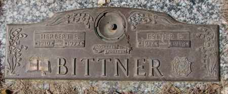 BITTNER, ESTHER E. - Yankton County, South Dakota | ESTHER E. BITTNER - South Dakota Gravestone Photos