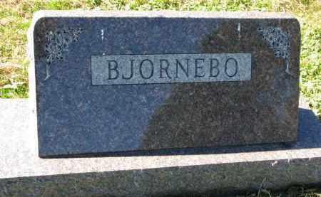 BJORNEBO, FAMILY STONE - Yankton County, South Dakota | FAMILY STONE BJORNEBO - South Dakota Gravestone Photos