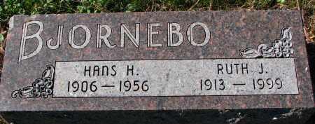 BJORNEBO, HANS H. - Yankton County, South Dakota   HANS H. BJORNEBO - South Dakota Gravestone Photos