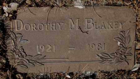 BLAKEY, DOROTHY M. - Yankton County, South Dakota | DOROTHY M. BLAKEY - South Dakota Gravestone Photos