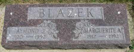 BLAZEK, MARGUERITE A. - Yankton County, South Dakota | MARGUERITE A. BLAZEK - South Dakota Gravestone Photos