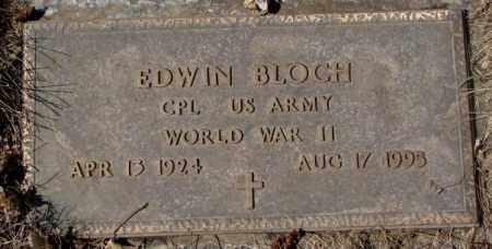 BLOCH, EDWIN - Yankton County, South Dakota   EDWIN BLOCH - South Dakota Gravestone Photos