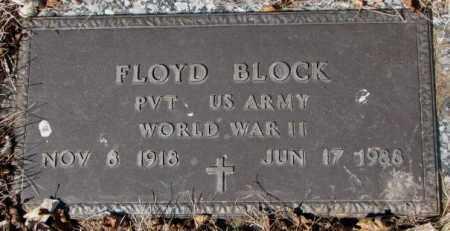 BLOCK, FLOYD - Yankton County, South Dakota | FLOYD BLOCK - South Dakota Gravestone Photos