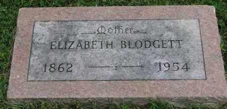 BLODGETT, ELIZABETH - Yankton County, South Dakota   ELIZABETH BLODGETT - South Dakota Gravestone Photos