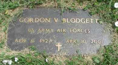 BLODGETT, GORDON V. - Yankton County, South Dakota | GORDON V. BLODGETT - South Dakota Gravestone Photos