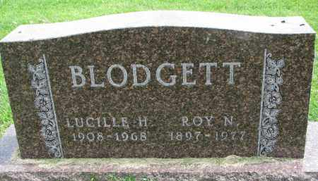 BLODGETT, ROY N. - Yankton County, South Dakota | ROY N. BLODGETT - South Dakota Gravestone Photos