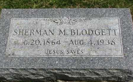 BLODGETT, SHERMAN M. - Yankton County, South Dakota | SHERMAN M. BLODGETT - South Dakota Gravestone Photos