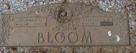 BLOOM, ELIZABETH M. - Yankton County, South Dakota | ELIZABETH M. BLOOM - South Dakota Gravestone Photos