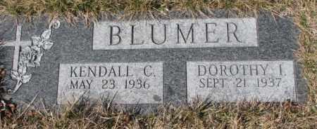 BLUMER, DOROTHY I. - Yankton County, South Dakota | DOROTHY I. BLUMER - South Dakota Gravestone Photos