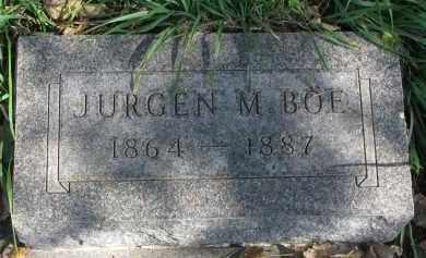 BOE, JURGEN M. - Yankton County, South Dakota   JURGEN M. BOE - South Dakota Gravestone Photos