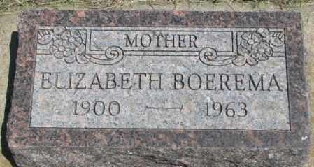 BOEREMA, ELIZABETH - Yankton County, South Dakota | ELIZABETH BOEREMA - South Dakota Gravestone Photos