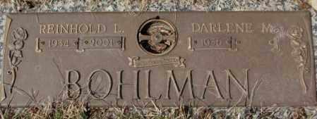 BOHLMAN, REINHOLD L. - Yankton County, South Dakota   REINHOLD L. BOHLMAN - South Dakota Gravestone Photos