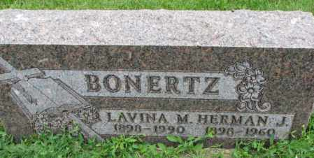 BONERTZ, LAVINA M. - Yankton County, South Dakota | LAVINA M. BONERTZ - South Dakota Gravestone Photos