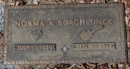 BORGHEIINCK, NORMA A. - Yankton County, South Dakota | NORMA A. BORGHEIINCK - South Dakota Gravestone Photos