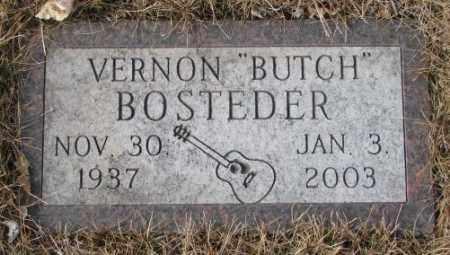 """BOSTEDER, VERNON """"BUTCH"""" - Yankton County, South Dakota   VERNON """"BUTCH"""" BOSTEDER - South Dakota Gravestone Photos"""