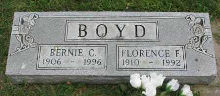 BOYD, FLORENCE F. - Yankton County, South Dakota | FLORENCE F. BOYD - South Dakota Gravestone Photos