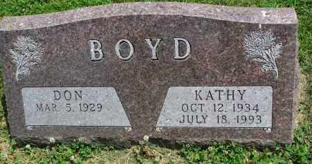 BOYD, DON - Yankton County, South Dakota   DON BOYD - South Dakota Gravestone Photos