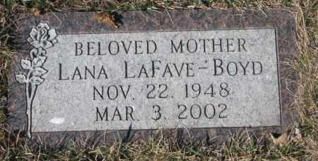 BOYD, LANA - Yankton County, South Dakota   LANA BOYD - South Dakota Gravestone Photos