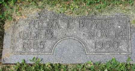 BOYER, HILDA T. - Yankton County, South Dakota | HILDA T. BOYER - South Dakota Gravestone Photos