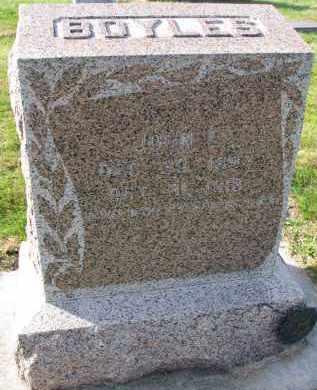 BOYLES, JOHN C. - Yankton County, South Dakota | JOHN C. BOYLES - South Dakota Gravestone Photos