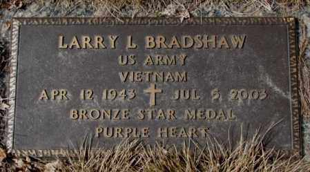 BRADSHAW, LARRY L. - Yankton County, South Dakota | LARRY L. BRADSHAW - South Dakota Gravestone Photos