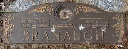 BRANAUGH, MARIE C. - Yankton County, South Dakota | MARIE C. BRANAUGH - South Dakota Gravestone Photos