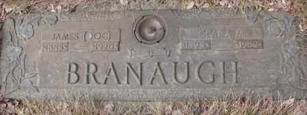 BRANAUGH, CLARA M. - Yankton County, South Dakota | CLARA M. BRANAUGH - South Dakota Gravestone Photos