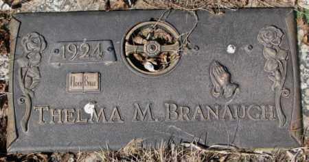 BRANAUGH, THELMA M. - Yankton County, South Dakota | THELMA M. BRANAUGH - South Dakota Gravestone Photos
