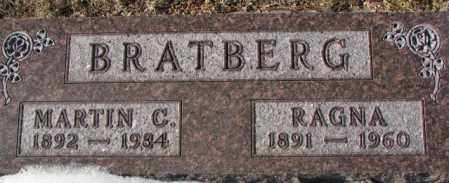BRATBERG, MARTIN C. - Yankton County, South Dakota | MARTIN C. BRATBERG - South Dakota Gravestone Photos