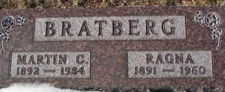 BRATBERG, RAGNA - Yankton County, South Dakota | RAGNA BRATBERG - South Dakota Gravestone Photos