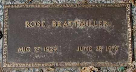 BRATTMILLER, ROSE - Yankton County, South Dakota | ROSE BRATTMILLER - South Dakota Gravestone Photos